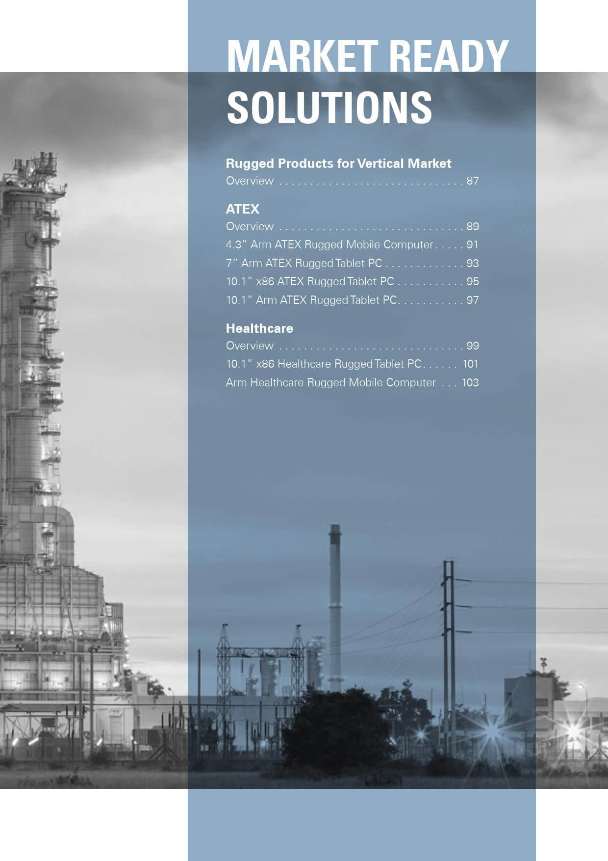 Rugged Products for Vertical Market