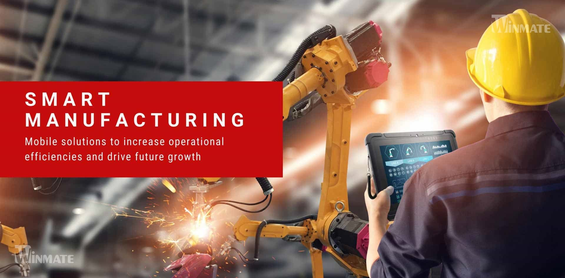 Enterprise Mobility Solutions For Smart Manufacturing application