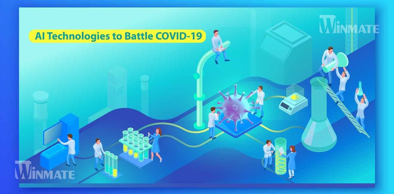 AI Technologies to Battle against the COVID-19 application